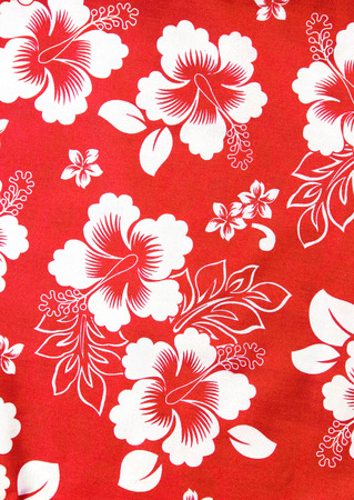 sateen: flowers fabric pattern background Stock Photo