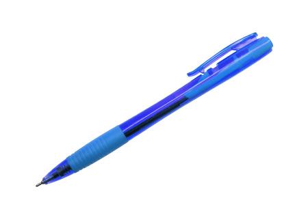 ball pens stationery: pluma aisladas sobre fondo blanco