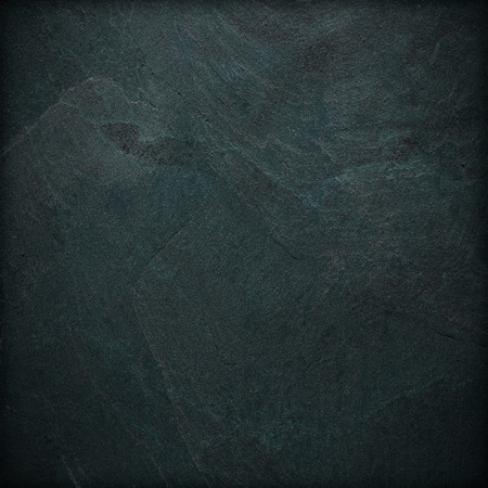 black stones: black slate background or texture Stock Photo