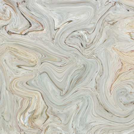 Creative background with abstract acrylic painted waves. Beautiful marble texture. Brown handmade surface. Liquid paint. Horizontal wallpaper. Reklamní fotografie - 46505256