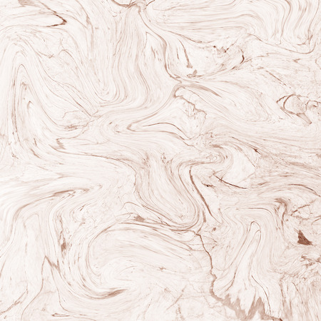 Creative background with abstract acrylic painted waves. Beautiful marble texture. Brown handmade surface. Liquid paint. Horizontal wallpaper.