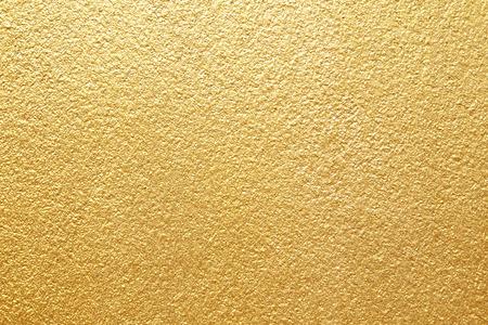 Błyszczący żółty liść złota folia tekstura tło
