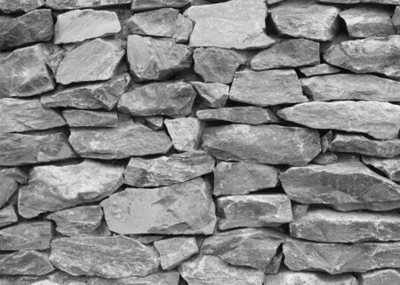Stone wall texture background natural color Stock fotó