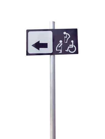 Signs for people with disabilities Elderly and pregnant women on white background Reklamní fotografie - 143528555