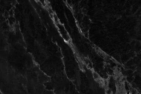 Black marble natural pattern for background, abstract black and white Reklamní fotografie - 143257817