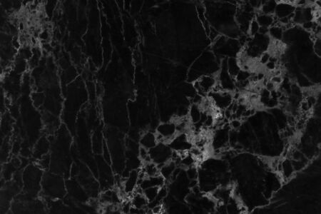Black marble natural pattern for background, abstract black and white Reklamní fotografie - 143257806