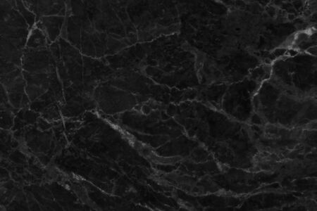 Black marble seamless texture with high resolution for background Reklamní fotografie