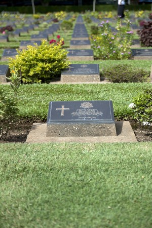 cemetry: kanchaburi war cemetry