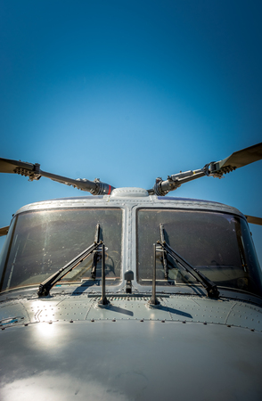 Marine Helicopter resting