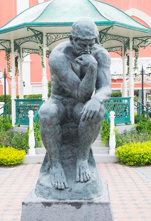 statuary garden: man sculpture