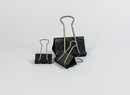 secretary office: triple black clip