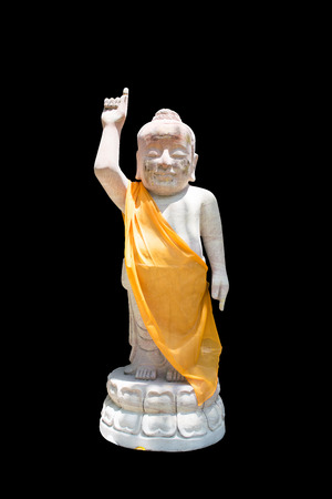 thai monk: thai monk statue