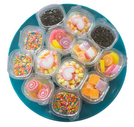 sweetmeat: dish of sweetmeat