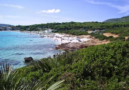 bombard:    Bombard beach                             Stock Photo