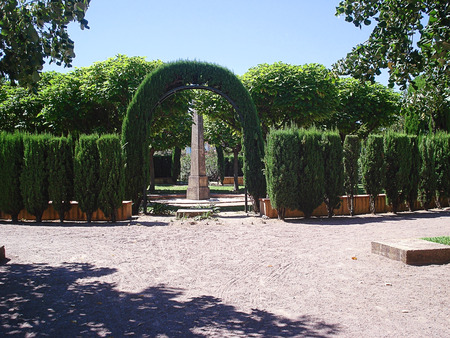 Park Exflora is a five hectare garden open to the public. The main terrace is at the entrance to the park in the style of the Italian renaissance and from where visitors can view the entire garden. Next to the large olive grove, there are different styles
