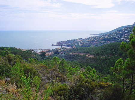 hectares: At the eastern extreme of the Alpes-Maritimes the Theoule-sur-Mer commune is situated. Here you can find 7 hectares of parkland of the Esterel Corniche and  the extraordinary sight of the red Esterel rock