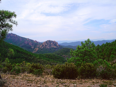 hectares: At the eastern extreme of the Alpes-Maritimes the Theoule-sur-Mer commune is situated. Here you can find 7 hectares of parkland of the Esterel Corniche and  the extraordinary sight of the red Esterel rock.