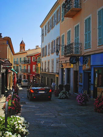 french riviera: Saint-Jean-Kap-Ferra is a small village and an expensive resort on the cape of French Riviera acting in the sea