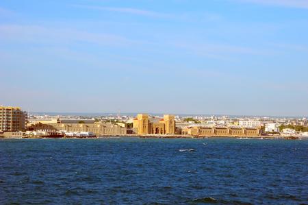 exhibition complex: Exhibition Complex Esterno Fiera del Levante on the coast of the city of Bari.