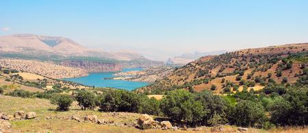 unexplored: Landscape lake Ataturk in the mountains of eastern Turkey.