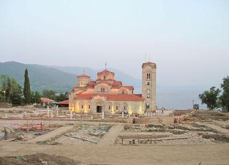 panteleimon: Church of St. Panteleimon, Ohrid, Republic of Macedonia.