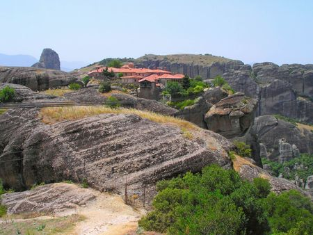 hermits: Rocks, on the tops of which are located the monasteries of Meteora.