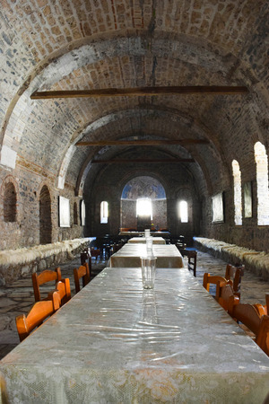 The refectory of the monastery of Saint Dionysius.