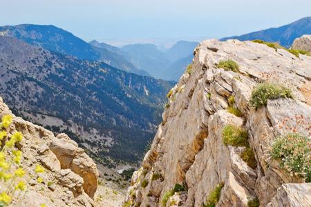 olympus: Olympus mountain range at summer in Greece. Stock Photo