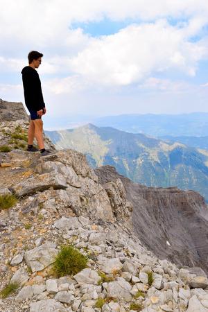olympus: On the top of Mount Olympus, Peak Scolio.