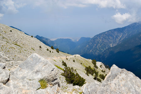 Climb to the top of Olympus, highest mountain in Greece.