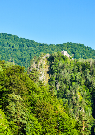 Poenari Fortress is a real castle of Dracula.