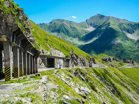 The Transfagarasan mountain road, located in Romania. Imagens