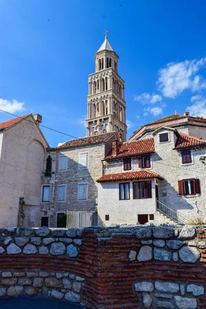The Cathedral of Saint Domnius in Split, Croatia.