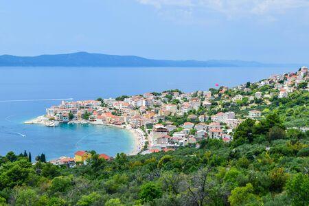 The Makarska town, Makarska Riviera, Dalmatia, Croatia.