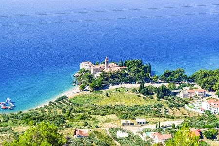 Dominican monastery, Bol, Brac island, Croatia.