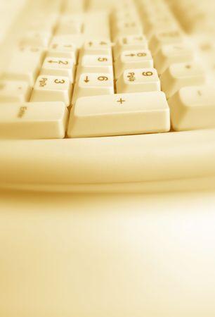Close up of  keyboard photo