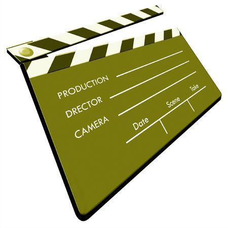 Film Clapboard,2D art photo