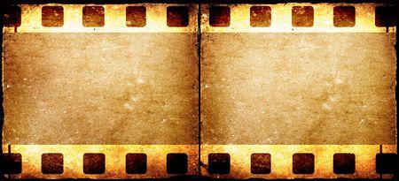 Old 35 mm movie Film reel,2D digital art Stock Photo - 3358930