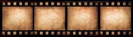 mm: Old 35 mm movie Film reel,2D digital art