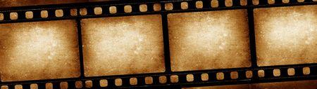 movie film reel: Antiguo de 35 mm de rollo de pel�cula de cine, arte digital 2D Foto de archivo