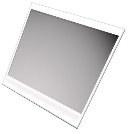 Polaroid film frames,2D digital art photo