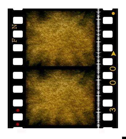 35 mm movie Film reel Stock Photo - 3380475