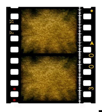 35 mm movie Film reel Stock Photo - 3380475