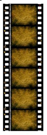 Old 35 mm movie Film reel,2D digital art Stock Photo - 3380489