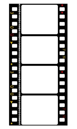 35mm Film frames photo