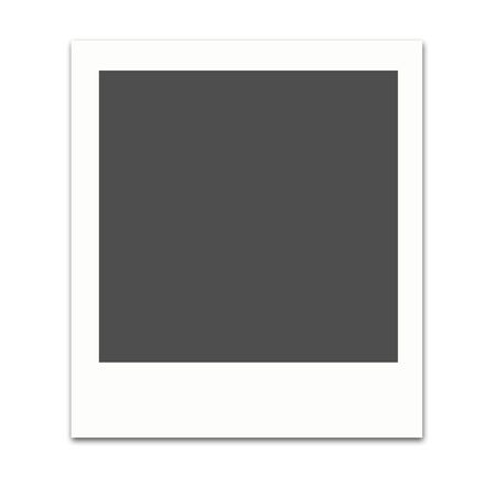 polaroid: Polaroid film frames,2D digital art Stock Photo