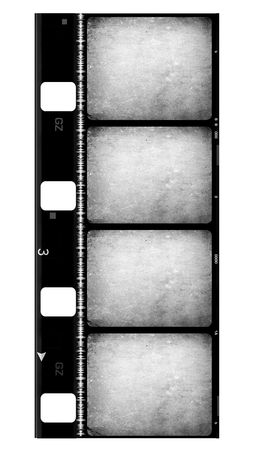 8mm Film roll,2D digital art Stock Photo