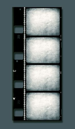 8mm Film roll,2D digital art Stock Photo - 3380491