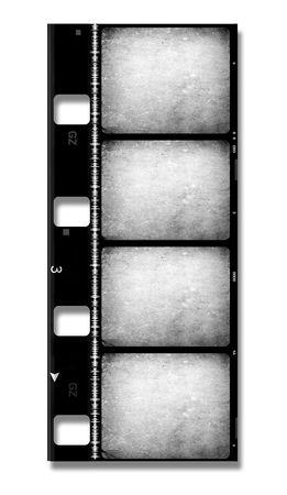 8mm Film roll,2D digital art Stock Photo