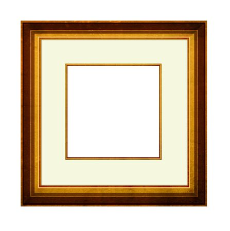 panting: Picture Frame with mount,2D digital art